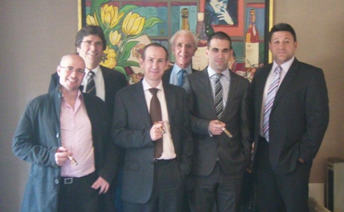 Habanosommelier contestants 2011