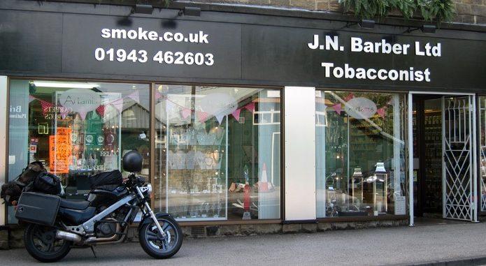 James Barber Tobacco Merchant