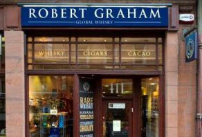 Many happy returns, Robert Graham Global Whisky shop