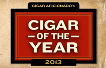 "Cigar Aficionado ""Cigar of the Year"" 2013"