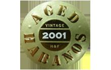 2001 Vintage Aged Habanos