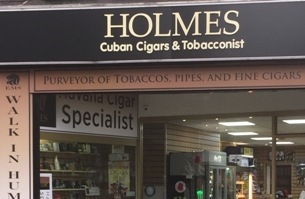New premises for Specialist Tobacconist, Nottingham