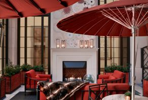 The Corinthia Hotel opens its new Garden Lounge