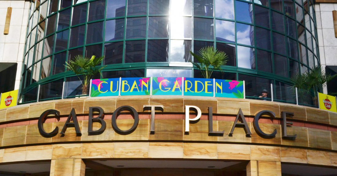 Boisdale open Cuban themed Terrace
