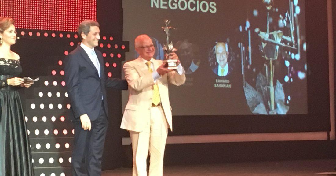 Edward Sahakian wins prestigious Habanos award