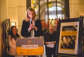 The Cohiba Talismán launch party