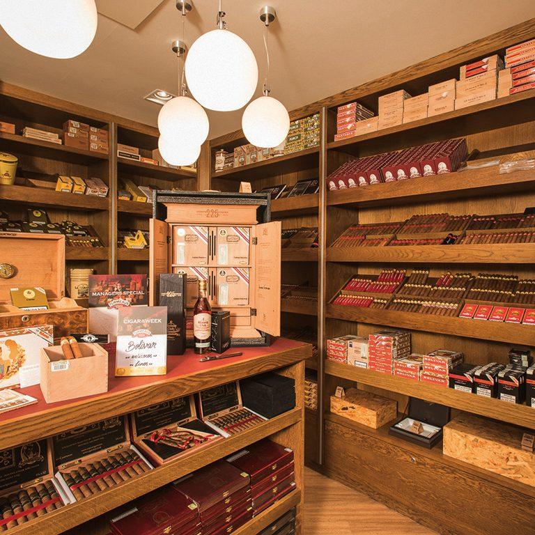 Storing Havana cigars