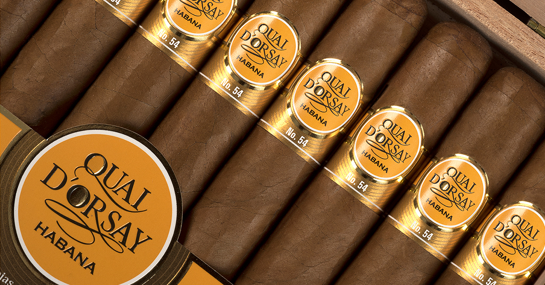 Quai d'Orsay 54 now available in boxes of 25