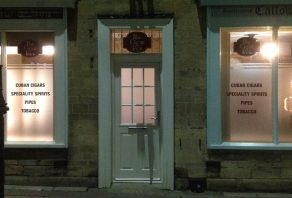 A new cigar shop opens in Market Deeping
